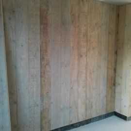 Project Slaapkamer wand